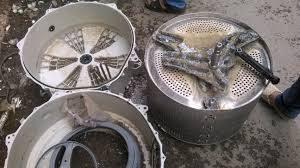 Thay bi trục bi bạc máy giặt Electrolux chính hãng