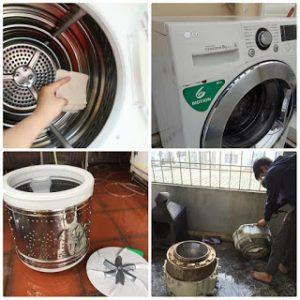 bảo dưỡng máy giặt Electrolux tại Royal City